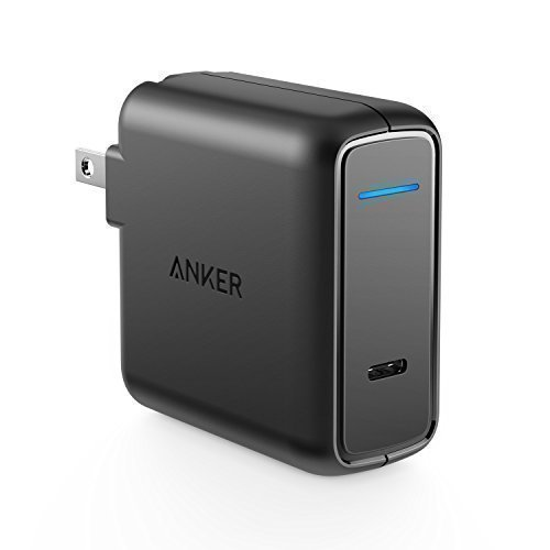 Anker USB Type C Wall Charger, 30W with Power Delivery, PowerPort Speed PD 30 for MacBook Pro/Air 2018, iPad Pro 2018, iPhone XS/Max/XR/X/8/7/Plus, Nexus 6P, LG G6, Pixel C/3/2/XL, MateBook and More