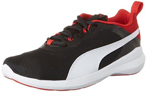 Puma Pacer Evo Jr, Sneakers Basses Mixte Enfant Noir (Puma Black-puma White 01)