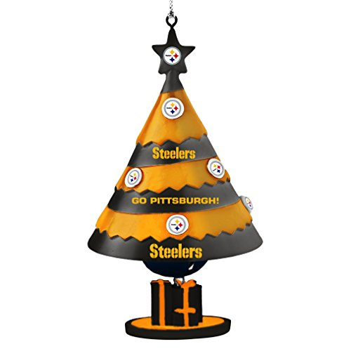 NFL Pittsburgh Steelers Tree Bell Ornament]()