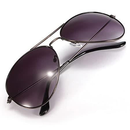 Water & Wood Retro Classic Aviator Mirrored Double Bridges Sunglasses Shade Earwear UV 400 by Waterwood