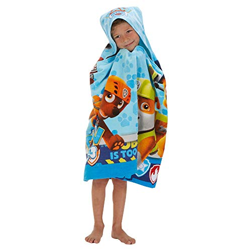(Franco Kids Bath and Beach Soft Cotton Terry Hooded Towel Wrap, 24