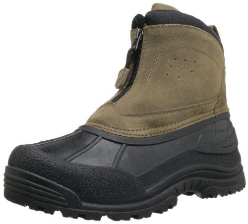 Zip Front Mens Boots - 9