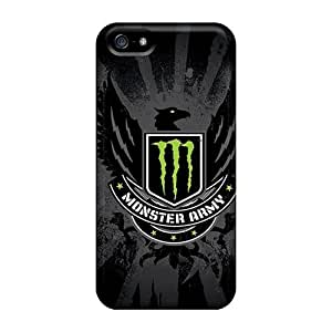 For Mainhotgoods Iphone Protective Cases, High Quality For Iphone 5/5s Monster Army Skin Cases Covers Black Friday