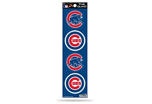 MLB Chicago Cubs Quad Decal ()