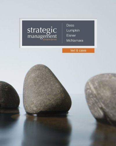 Strategic Management:Text+Cases