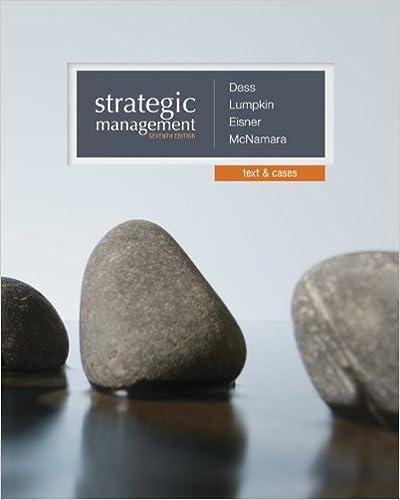 Strategic Management Creating Competitive Advantages 6th Edition Pdf