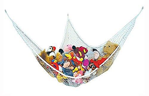 /Peut /être utilis/é comme Hamac dangle /Id/éal pour chambre denfant de rangement en maille Play/ Grand hamac pour peluche Teddy Ranger b/éb/é//chambre /à coucher pour enfants/