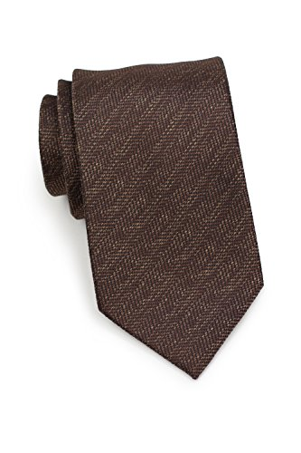 - Bows-N-Ties Men's Necktie Woven Herringbone Microfiber Satin Tie 3.25 Inches