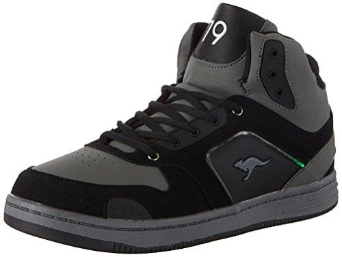 Adulto Grey baskled K Kangaroos Sneaker Unisex Black Ii steel jet Schwarz wqfC1RP