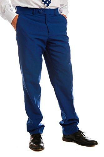 [The Van Buren Men's Patriotic Suit by OppoSuits - Individual Jacket, Pants, or Tie] (Chicago Halloween Costume Ideas)