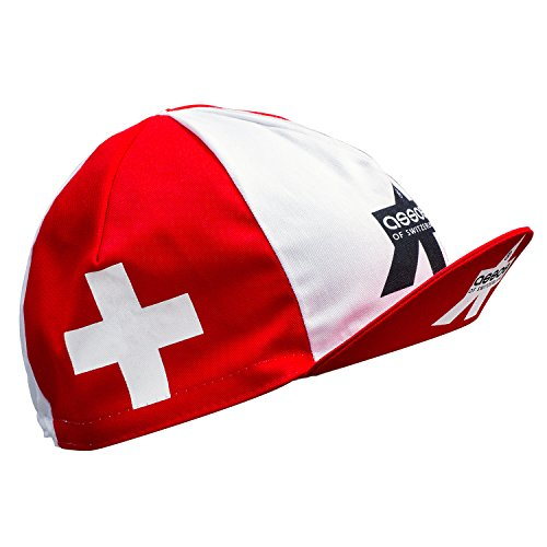 Assos Swiss Cycling Cap (Red & White)