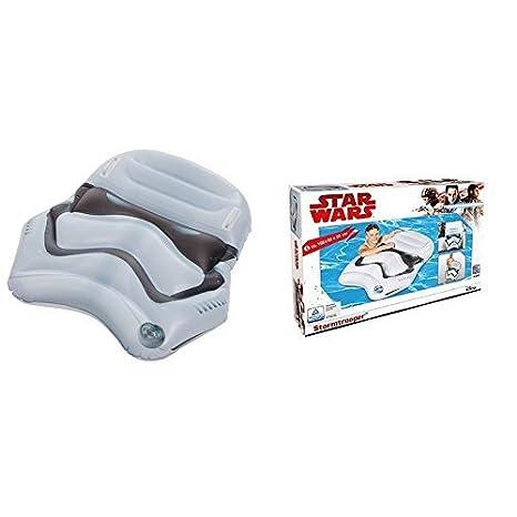 FLOTADOR/Colchón de aire / tabla de surf / surfrider Star Wars con Stormtrooper aprox. 108 x 92 x 20cm: Amazon.es: Juguetes y juegos