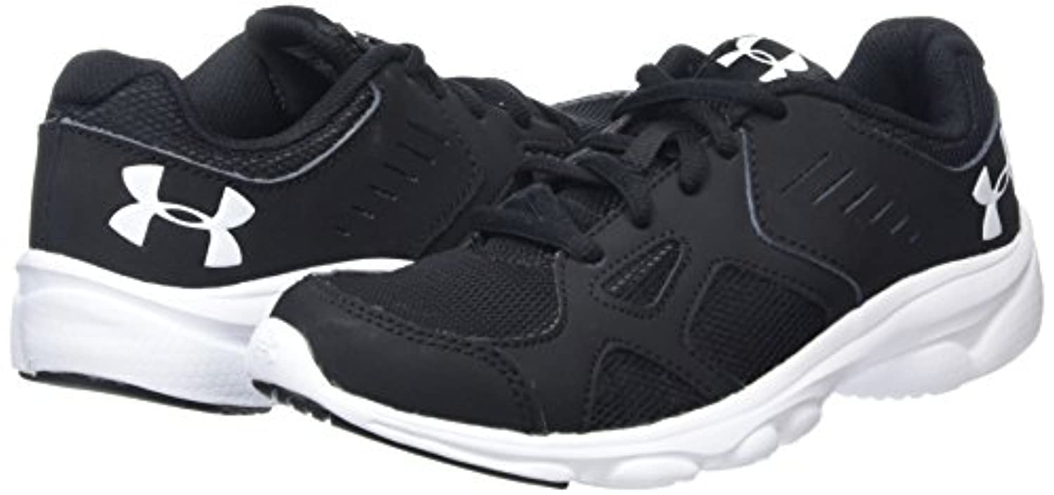 Under Armour Boys' Bgs Pace Running Shoes, Black (Black), 5 Child UK 38 EU