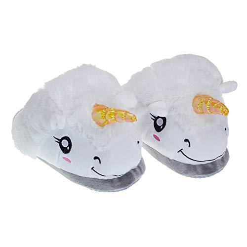 Zapatillas 6cm El Animados Jia Para Gruesos Dibujos 24 5cm De Antideslizantes 28 Invierno Divertidos white Hong Zapatos Algodón Hogar White qX7qAav