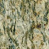 Giallo Cecilia Natural Granite From Brazil 21x5 Inch, 1-3/8 Inch Thick, One Side Polished For DIY Progects Krafts Etc.
