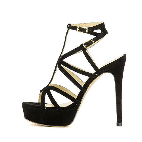 Evita Shoes Nanda - Sandalias de vestir de Piel para mujer negro