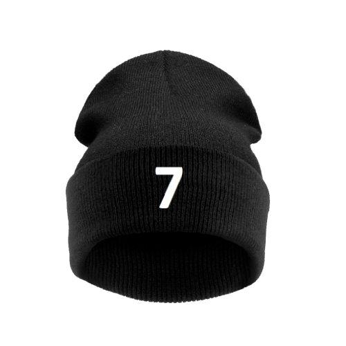 7 Taille Black Homme Noir Bonnet Universelle 4sold Lucky UtxOqYPnw