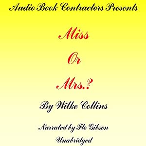 Miss or Mrs.? Audiobook