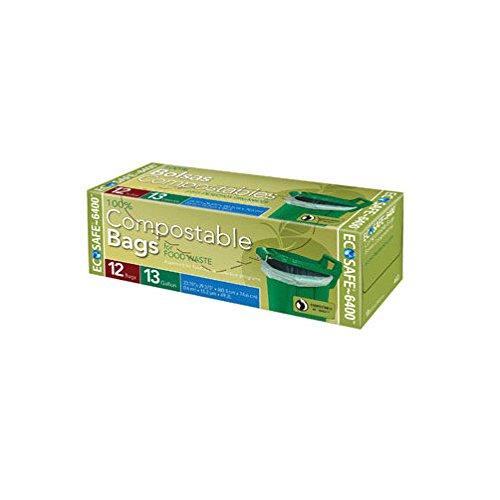 Presto EcoSafe-6400 Compostable Food Waste Trash Bag