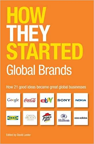 How They Started: How 30 Good Ideas Became Great...
