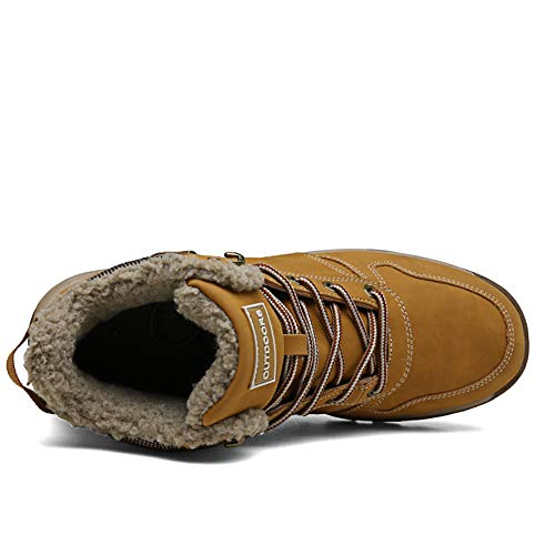 Uomo 36 1 Piatto Da Giallo Scarpe Sportive 46 Stivali Allineato Caviglia Neve Pelliccia Caloroso Escursionismo Invernali Stivaletti Eu Boots rqwrxz6nU