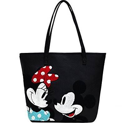 größte Auswahl UK Verfügbarkeit große Auswahl Loungefly Schultertasche Tasche Disney Mickey und Minnie ...