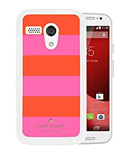 Fashionable And Unique Kate Spade Cover Case For Motorola Moto G White Phone Case 275