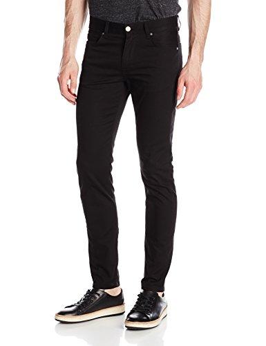 J.Lindeberg Men's Damien Black Stretch Denim Jeans, 30 x 32