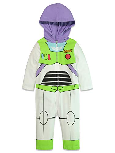 Christmas Story Costumes Halloween (Disney Pixar Toy Story Buzz Lightyear Baby Boy Zip-Up Costume Coverall 0-3)