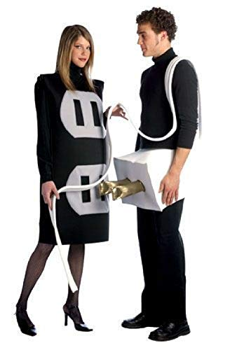 Adult Plug & Socket Couples Costumes 2 Costumes ()