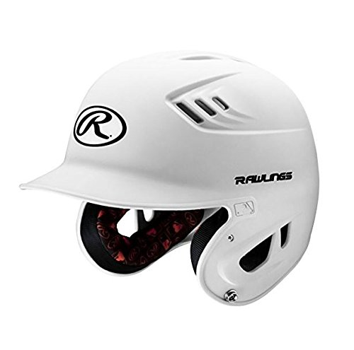 rawlings-r16-series-matte-batting-helmet-white-junior