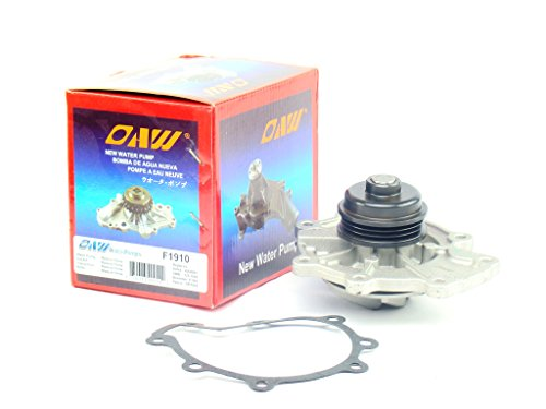 OAW F1910 Engine Water Pump for Ford Contour Escape Taurus 24V, Jaguar X-Type, Mazda MPV Tribute, and Mercury Cougar Mystique Sable 24V V6 2.5L 3.0L by OAW