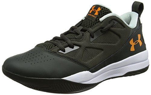 Under Armour UA Jet Low, Scarpe da Basket Uomo Verde (Artillery Green 357)