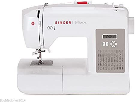 MAQUINA COSER SINGER BRILLANCE 6180 CON PANTALLA DIGITAL LCD ...
