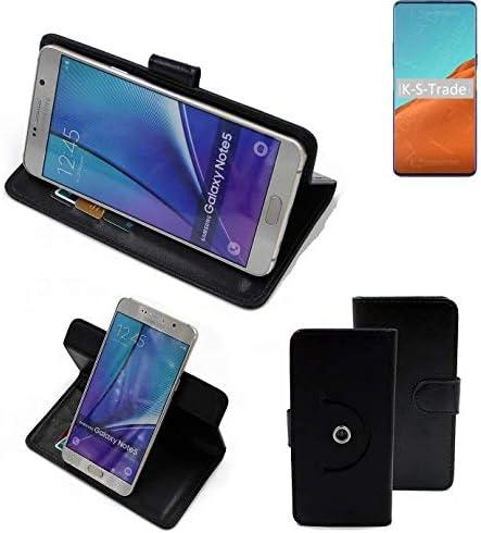 K-S-Trade 360° Funda Smartphone Compatible con Nubia X 5G, Negro | Función De Stand Caso Monedero BookStyle Mejor Precio, Mejor Funcionamiento: Amazon.es: Electrónica