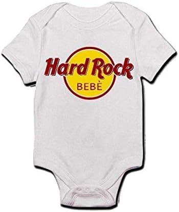 Body Bimbo//a Neonato//a Beb/è Bianco Hard Rock Beb/è Divertente Idea Regalo!