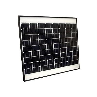 ALEKO SPU50W24V Monocrystalline Modules Solar Panel 50W 24V