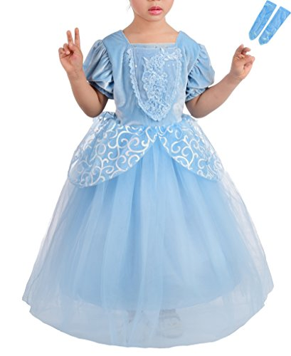 Dressy Daisy Princess Cinderella Costumes for Girls Halloween Party Princess Dress Up