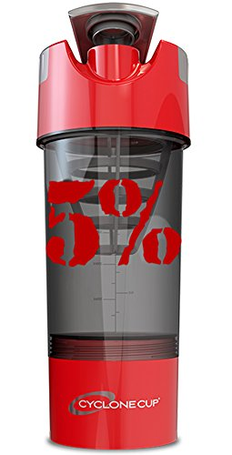 Rich Piana 5% Nutrition Cyclone Cup 20oz (Red)