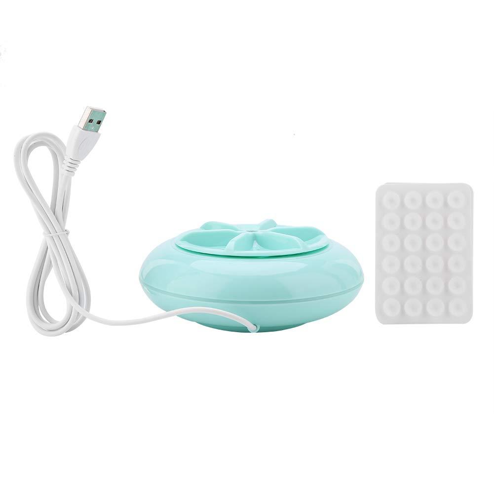Ultraschall Waschmaschine 2 in 1 Mini Portable USB Ultraschall Schleuder Waschmaschine Washer Turbine Waschmaschine fü r Reisen Wä sche Gemü se Obst Zerodis