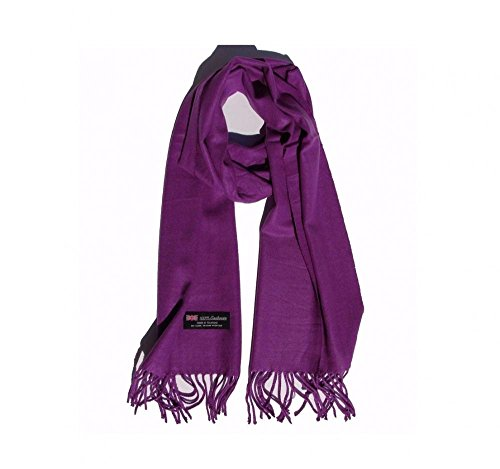Sneakers Future To Back The Costume (Purple Violet_(US Seller)Scarves SOLID Scotland Wool Warm THICK WINTER)