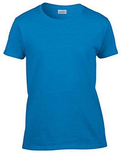 - Gildan Ultra Cotton Ladies' T-Shirt, Sapphire, X-Large
