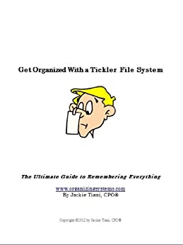 Amazon Com Get Organized With A Tickler File System The