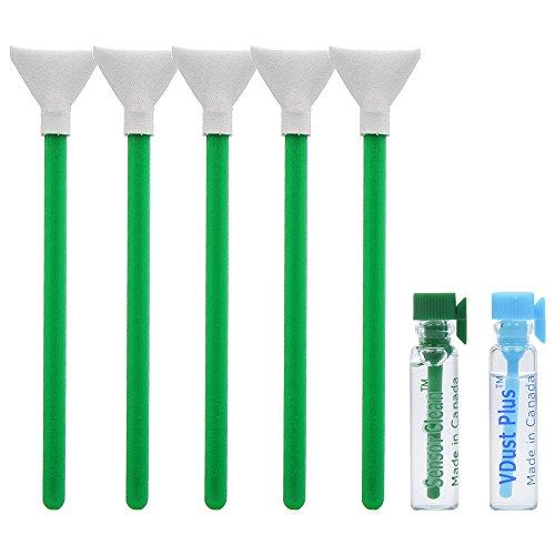 1 X Sensor (VisibleDust EZ Sensor Dual Power-X Cleaning Kit for Size 1.0x (24mm) Full Frame DSLR with 1.15ml Liquid vDust Plus, 1.15 Sensor Clean Plus & 5 Vswabs (Regular Strength))