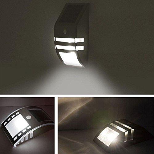 OxyLED-TSP-02-LED-brillante-con-sensor-de-movimiento-activado-energa-solar-encendido-apagado-automtico-iluminacin-de-seguridad-exterior-de-la-escalera-paso-Jardn-Patio-Pared-Camino-Casa-Patio-1-Ao-de-