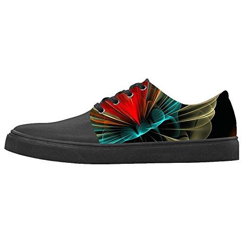 Dalliy Custom Stampa 3D stereoscopica Women's Canvas Shoes Le Scarpe Le Scarpe Le Scarpe.