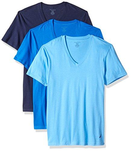 Cotton V-Neck T-Shirt - Multi Pack