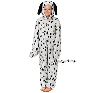 Dalmatian Costume for Kids 4-6 yrs - 41LiU9H4vGL - Charlie Crow Dalmatian Costume for Kids 3-5 Years
