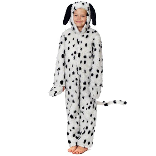 Charlie Crow Dalmatian Costume for Kids 7-9 Years -