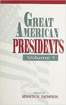 Book Great American Presidents: v. 1: Vol 1